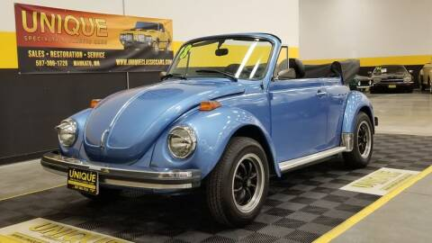1978 Volkswagen Super Beetle for sale at UNIQUE SPECIALTY & CLASSICS in Mankato MN