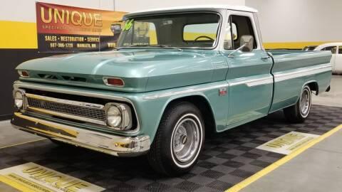 1966 Chevrolet C/K 10 Series for sale at UNIQUE SPECIALTY & CLASSICS in Mankato MN
