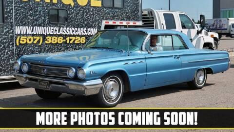 1962 Buick LeSabre for sale at UNIQUE SPECIALTY & CLASSICS in Mankato MN