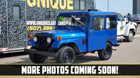 1976 AM General Jeep for sale at UNIQUE SPECIALTY & CLASSICS in Mankato MN