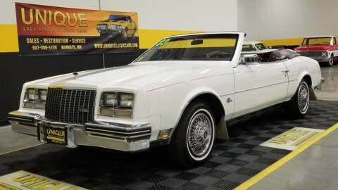 1983 Buick Riviera for sale at UNIQUE SPECIALTY & CLASSICS in Mankato MN