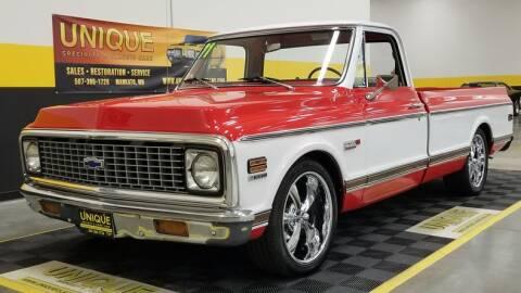 1971 Chevrolet C/K 10 Series for sale at UNIQUE SPECIALTY & CLASSICS in Mankato MN