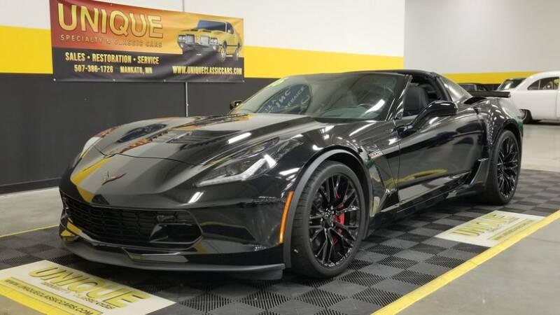 2016 Chevrolet Corvette for sale at UNIQUE SPECIALTY & CLASSICS in Mankato MN