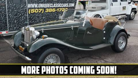 1952 MG TD for sale at UNIQUE SPECIALTY & CLASSICS in Mankato MN