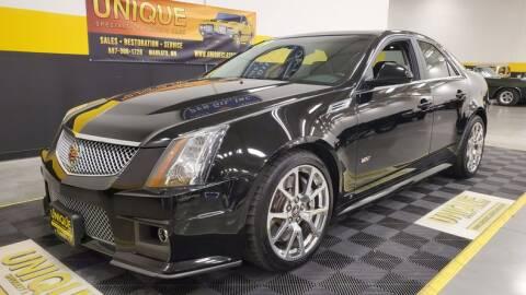 2009 Cadillac CTS-V for sale at UNIQUE SPECIALTY & CLASSICS in Mankato MN
