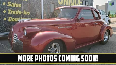 1939 Buick Coupe for sale at UNIQUE SPECIALTY & CLASSICS in Mankato MN