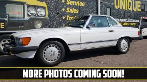 1989 Mercedes-Benz 560-Class for sale at UNIQUE SPECIALTY & CLASSICS in Mankato MN