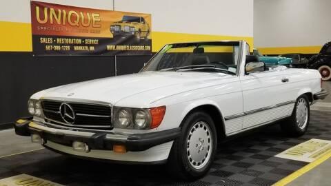 1989 Mercedes-Benz 560-Class for sale at UNIQUE SPECIALTY & CLASSICS in Mankato MN