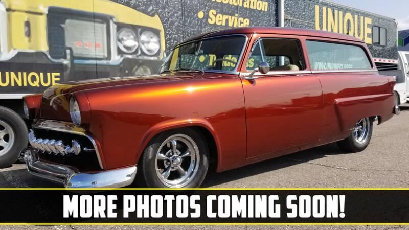 1954 Ford Ranch Wagon for sale at UNIQUE SPECIALTY & CLASSICS in Mankato MN