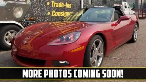 2009 Chevrolet Corvette for sale at UNIQUE SPECIALTY & CLASSICS in Mankato MN