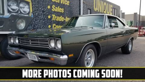 1969 Plymouth Roadrunner for sale at UNIQUE SPECIALTY & CLASSICS in Mankato MN