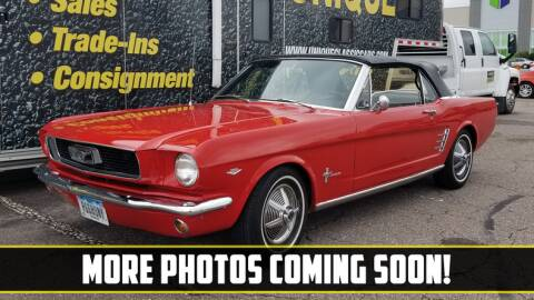 1966 Ford Mustang for sale at UNIQUE SPECIALTY & CLASSICS in Mankato MN