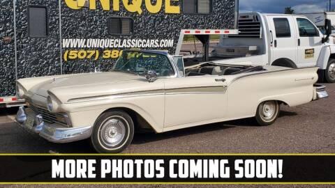 1957 Ford Fairlane for sale at UNIQUE SPECIALTY & CLASSICS in Mankato MN