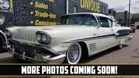 1958 Pontiac Bonneville for sale at UNIQUE SPECIALTY & CLASSICS in Mankato MN