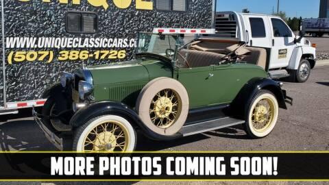 1929 Ford Model A for sale at UNIQUE SPECIALTY & CLASSICS in Mankato MN