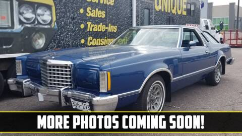 1977 Ford Thunderbird for sale at UNIQUE SPECIALTY & CLASSICS in Mankato MN