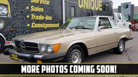 1974 Mercedes-Benz SL-Class for sale at UNIQUE SPECIALTY & CLASSICS in Mankato MN
