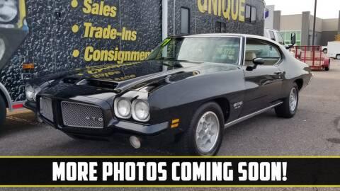 1971 Pontiac GTO for sale at UNIQUE SPECIALTY & CLASSICS in Mankato MN