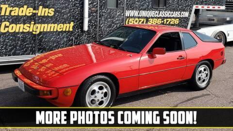 1987 Porsche 924 for sale at UNIQUE SPECIALTY & CLASSICS in Mankato MN