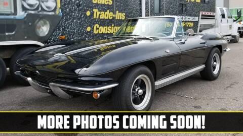 1964 Chevrolet Corvette for sale at UNIQUE SPECIALTY & CLASSICS in Mankato MN