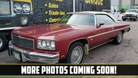 1975 Chevrolet Caprice for sale at UNIQUE SPECIALTY & CLASSICS in Mankato MN