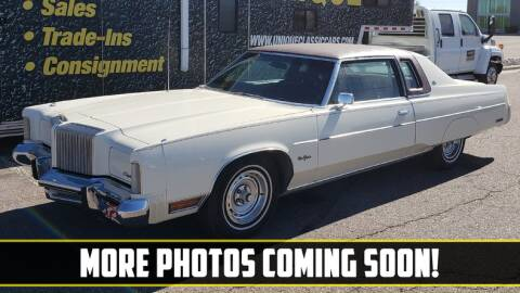 1976 Chrysler New Yorker for sale at UNIQUE SPECIALTY & CLASSICS in Mankato MN