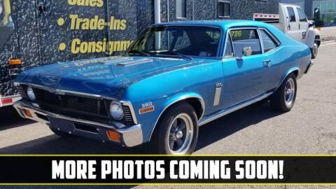 1972 Chevrolet Nova for sale at UNIQUE SPECIALTY & CLASSICS in Mankato MN