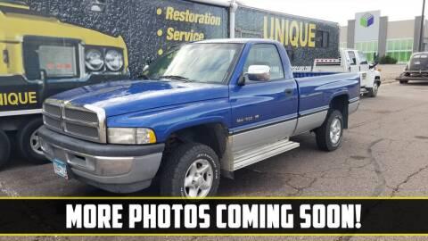 1997 Dodge Ram Pickup 1500 for sale at UNIQUE SPECIALTY & CLASSICS in Mankato MN