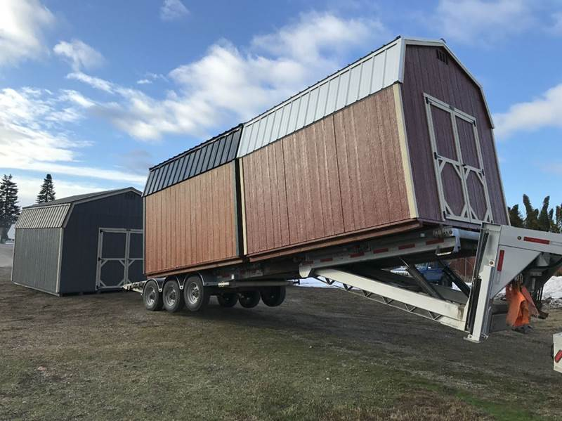 2021 Montana Shed Center -Storage Your Way- for sale at Pool Auto Sales in Hayden ID