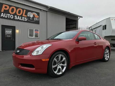 2007 Infiniti G35 for sale at Pool Auto Sales in Hayden ID