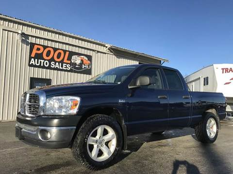 2008 Dodge Ram Pickup 1500 for sale at Pool Auto Sales in Hayden ID