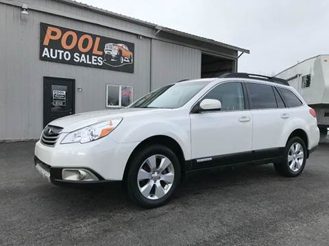 2011 Subaru Outback for sale at Pool Auto Sales in Hayden ID