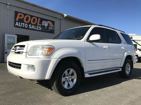 2006 Toyota Sequoia for sale at Pool Auto Sales in Hayden ID