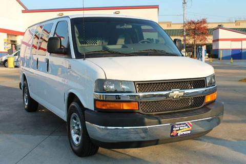2008 Chevrolet Express Cargo for sale at KEEN AUTOMOTIVE in Clarksville TN