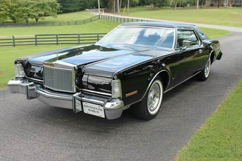 1975 Lincoln Mark IV for sale at KEEN AUTOMOTIVE in Clarksville TN