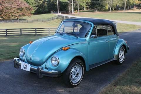 1979 Volkswagen Beetle Convertible for sale at KEEN AUTOMOTIVE in Clarksville TN