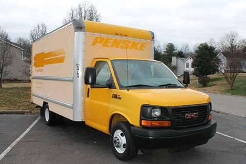 2005 gmc g3500 box truck