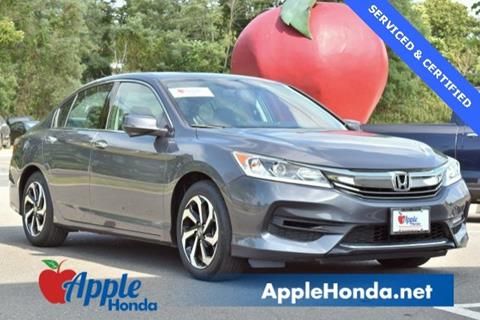 2016 Honda Accord for sale in Riverhead, NY
