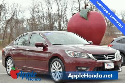 2015 Honda Accord EX-L for sale at APPLE HONDA in Riverhead NY