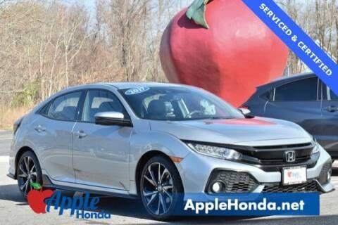 2017 Honda Civic Sport Touring for sale at APPLE HONDA in Riverhead NY