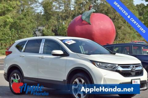 2017 Honda CR-V for sale at APPLE HONDA in Riverhead NY