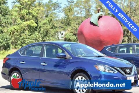 2017 Nissan Sentra for sale at APPLE HONDA in Riverhead NY