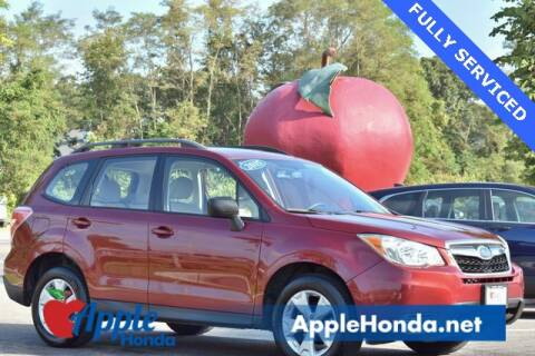 2015 Subaru Forester for sale at APPLE HONDA in Riverhead NY