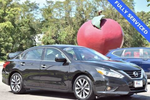 2017 Nissan Altima for sale at APPLE HONDA in Riverhead NY
