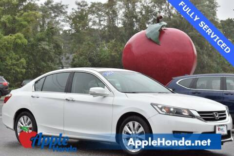 2014 Honda Accord for sale at APPLE HONDA in Riverhead NY
