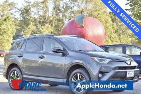 2017 Toyota RAV4 for sale at APPLE HONDA in Riverhead NY