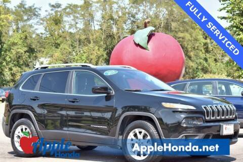2018 Jeep Cherokee for sale at APPLE HONDA in Riverhead NY