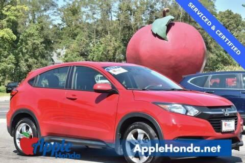 2017 Honda HR-V for sale at APPLE HONDA in Riverhead NY