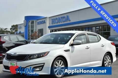 2015 Kia Optima for sale at APPLE HONDA in Riverhead NY