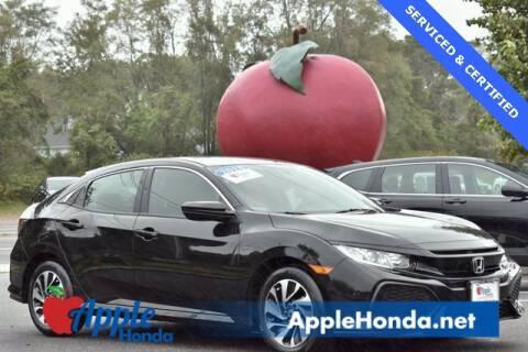 2018 Honda Civic for sale at APPLE HONDA in Riverhead NY